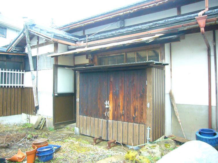 リノベーション施工前|篠山賃貸ハウス(兵庫県篠山市)