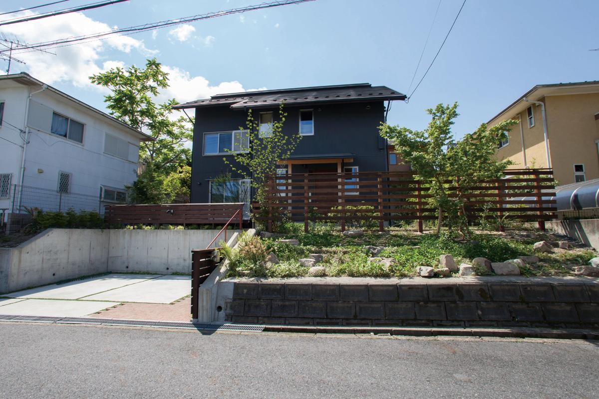 庭園設計・施工・管理|T邸フロントガーデンリフォーム(滋賀県大津市)