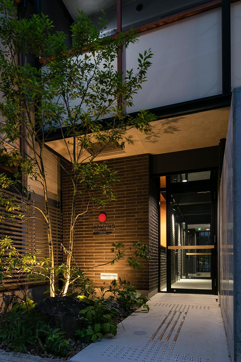 旅行者の疲れを癒してくれることをおもって/JAPANING HOTEL(京都市伏見区)